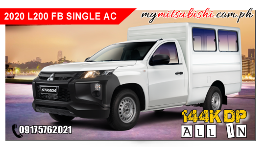 L200 FB SINGLE AC 2020